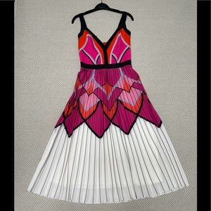 TADASHI SHOJI Pleated Dress